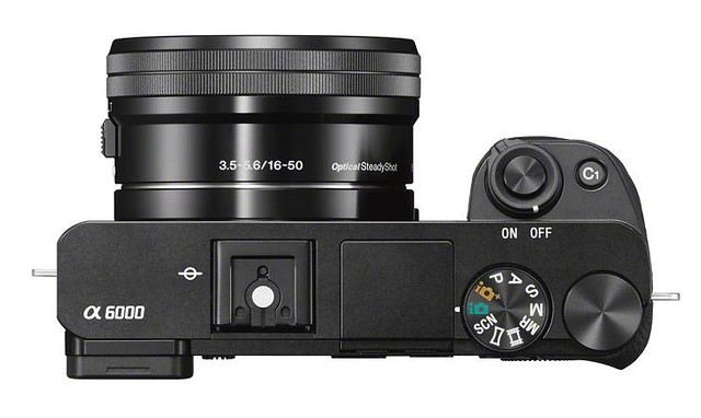 Sony a6000 diales