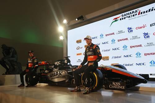 Checo espera con Force India mejorar sus resultados en la F-1