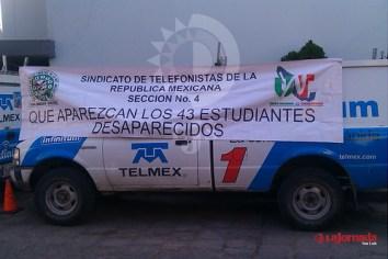 Telefonistas potosinos marcharán en apoyo a Ayotzinapa