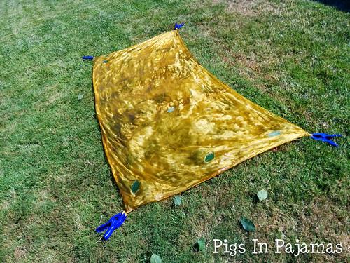 solar fast dyed silk
