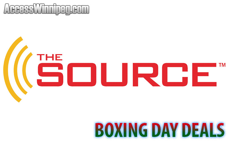 The Source Boxing Day Deals 2017