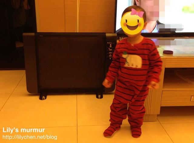 用小妮當比例尺,小妮目前身高86cm。她在家大概都只穿這樣...