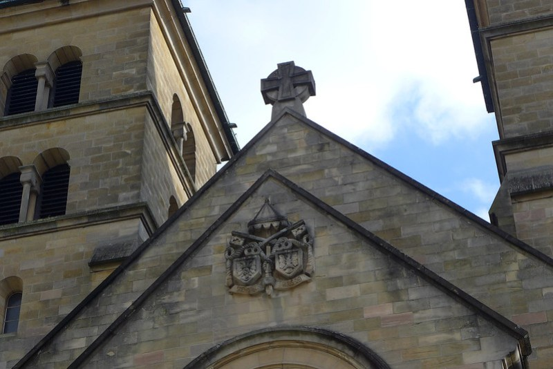 Echternach (Luxembourg) - 17 - Basilique Saint Willibrord