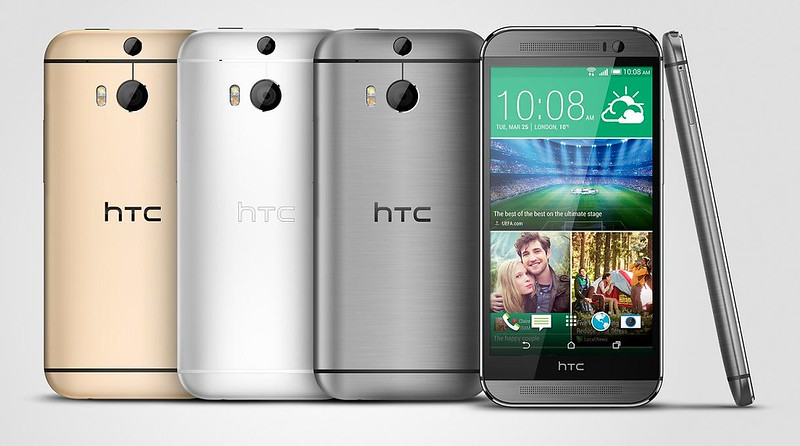 HTC One M8 colores