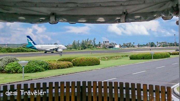 Plane at Koh Samui Airport
