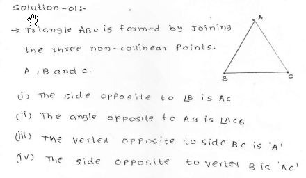 RD SHARMA class_6 solutions  12.Triangles  Ex_12.1 Q 1