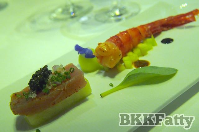 yellowfin tuna ceviche hansar
