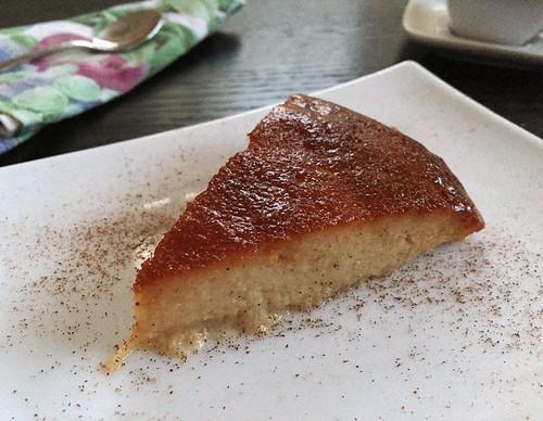 caramel topped semolina cake flan de farina