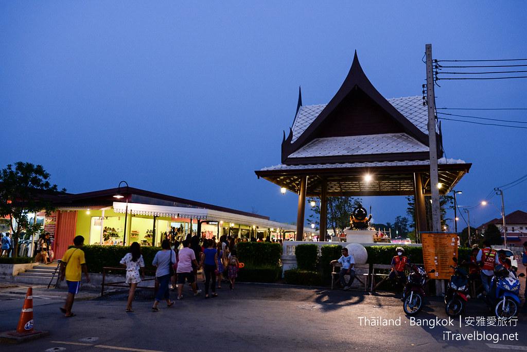 曼谷席娜卡琳火车铁道夜市 Train Night Market Srinakarin 06