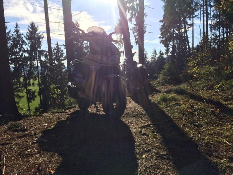 Roadtrip mit dem Roller