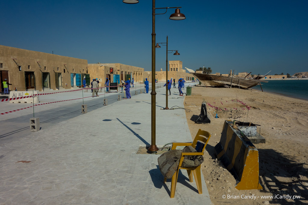 Souq Waqif in Wakra Nearing Completion