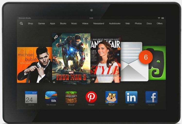 fire hdx 8.9 Amazon tabletas
