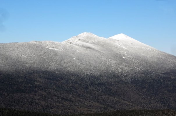 Mt. Flume Winter View of Mt. Lafayette