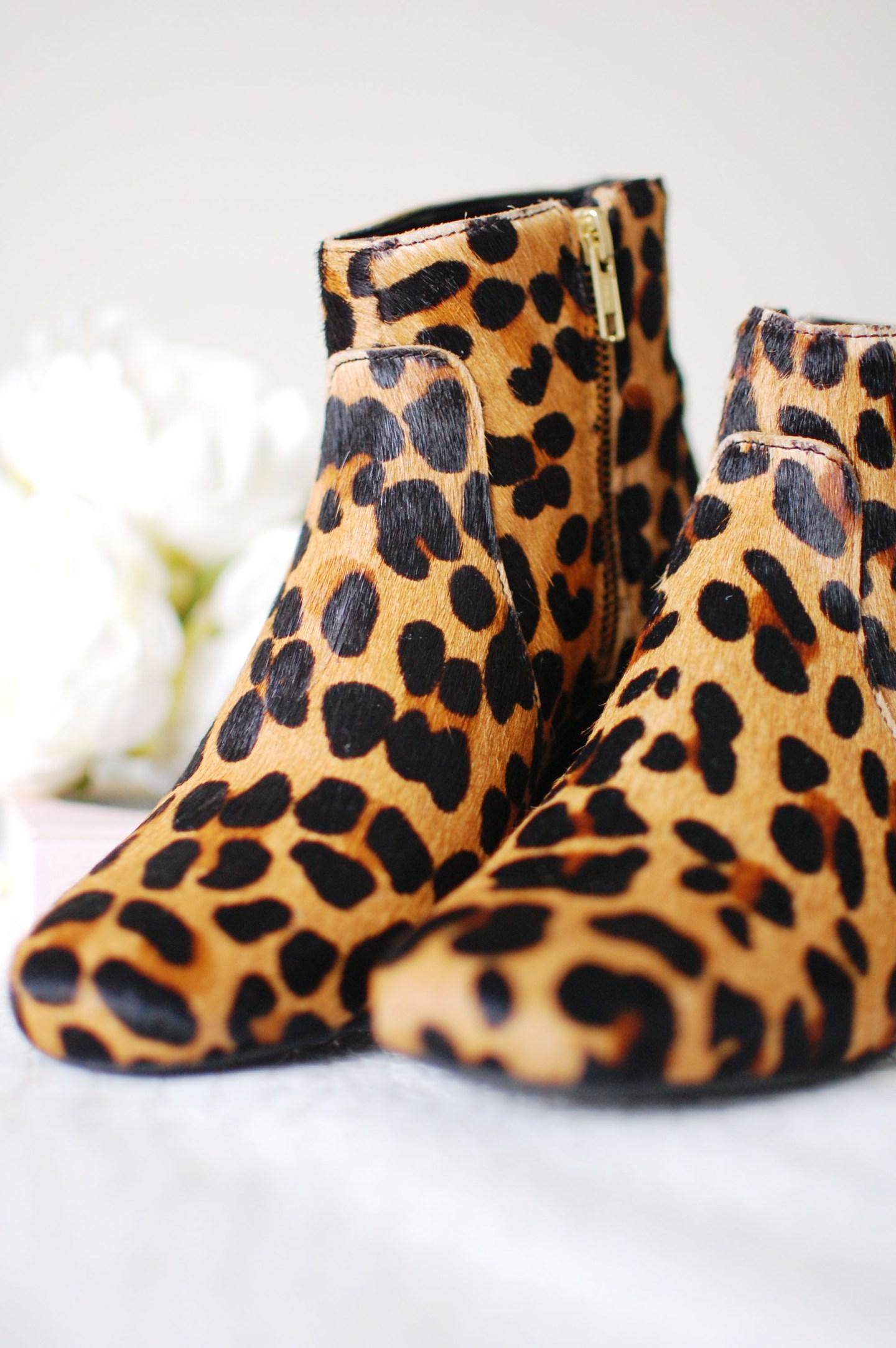 Leopard Print Boots 3