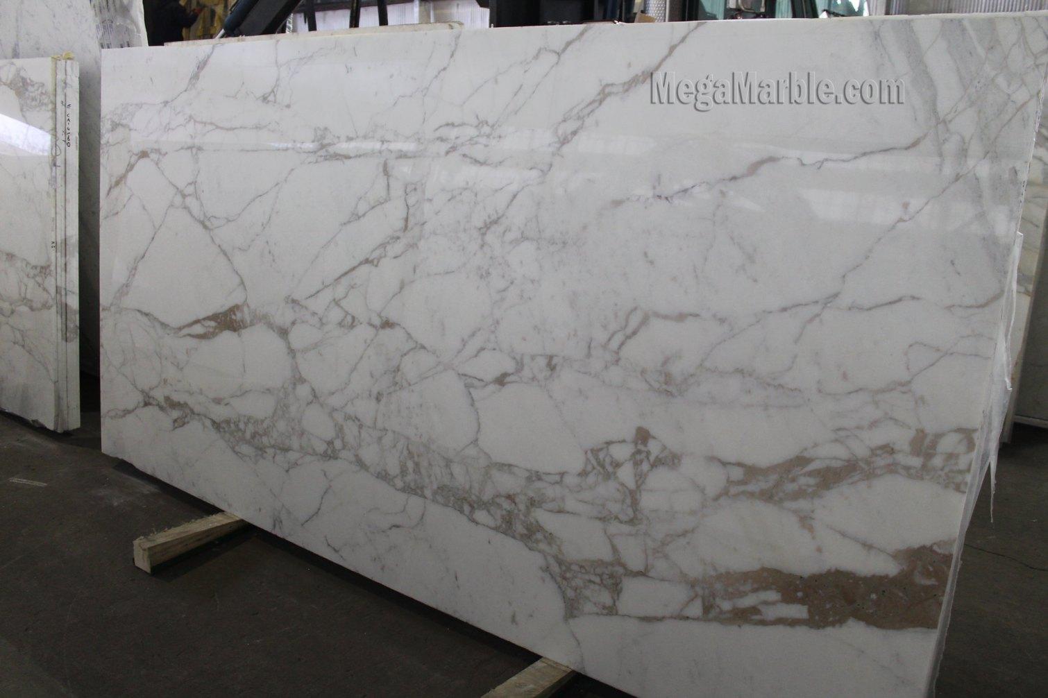 Calacatta Marble Slab 122 X 61 2cm Marble