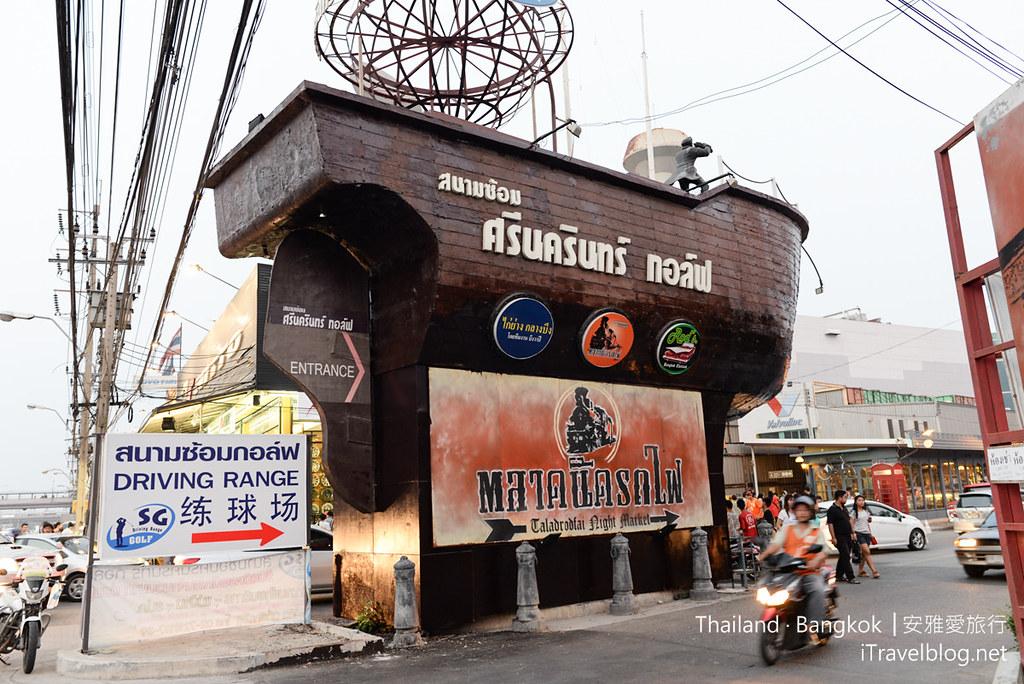 曼谷席娜卡琳火車鐵道夜市 Train Night Market Srinakarin 02