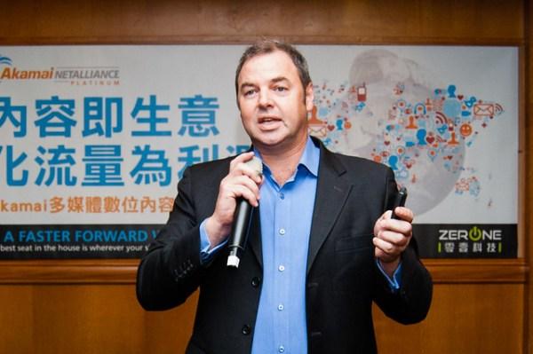 Akamai日本暨亞太區媒體部門策略長David Habben