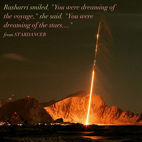What's the book about? The dangers that rise when dreams come true. http://amzn.to/1BR5p0G #yalit #scifi #spaceopera