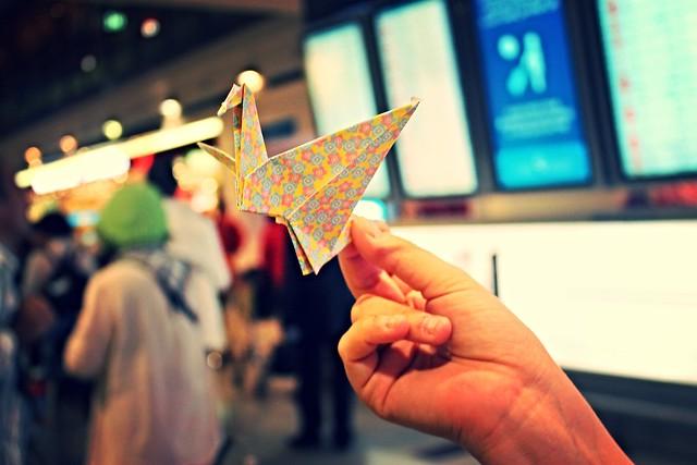 Fotos de Japón: origami