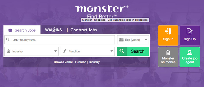 Job Search Websites in the Philippines - Monster