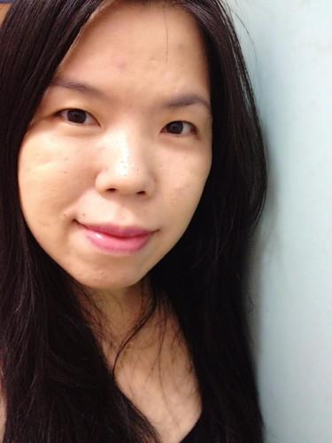 Shizen lip tattoo after