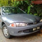 1999 Proton Wira Aeroback 1.5 (Dad's old car, 2012-08-26)