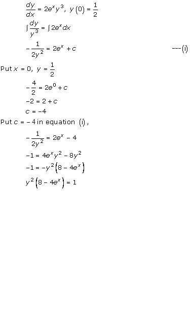 RD Sharma Class 12 Solutions Chapter 22 Differential Equations Ex 22.7 Q42