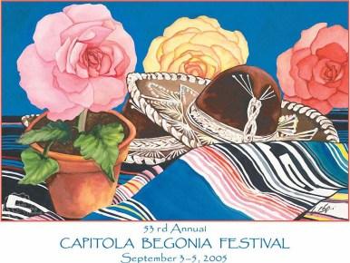 2005 - Capitola Begonia Fiesta