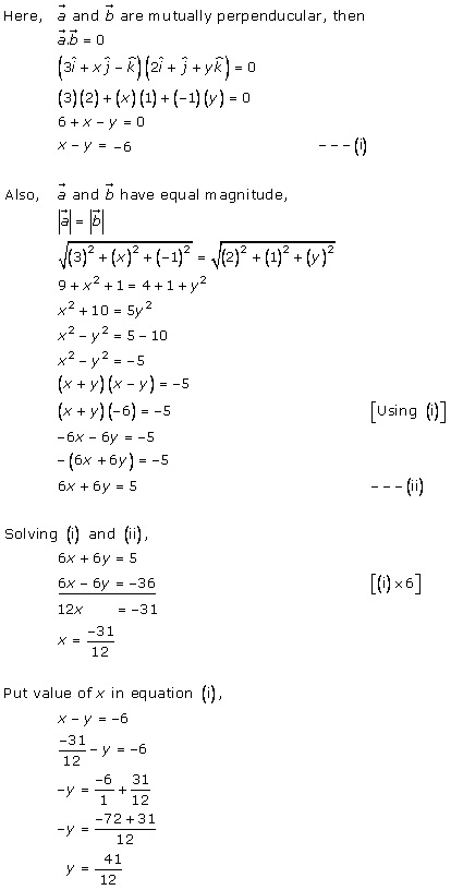 RD Sharma Class 12 Solutions Chapter 24 Scalar or Dot Product Ex 24.1 Q27