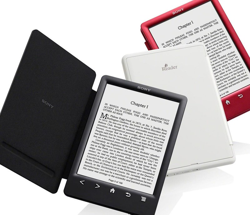 Sony Reader T3 colores