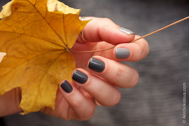33 Gelish   Fashionably Slate + Let's Hit The Bunny Slipes