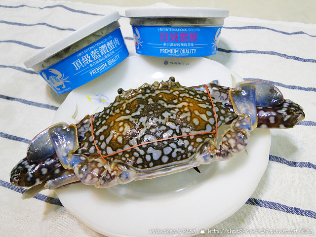 太食記 藍鑽蟹