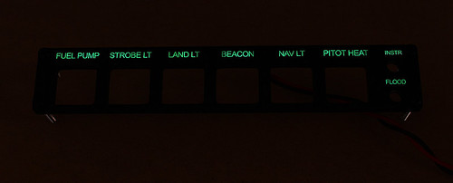 RV-7 Instrument Switch Panel - WEB 02