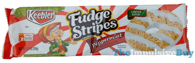 Keebler Limited Batch Peppermint Fudge Stripes Cookies