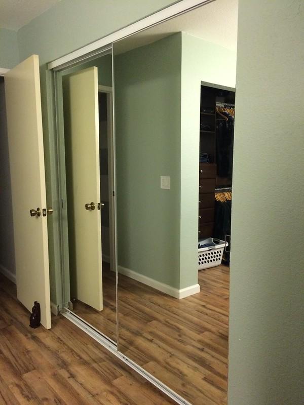 My New Closet Door