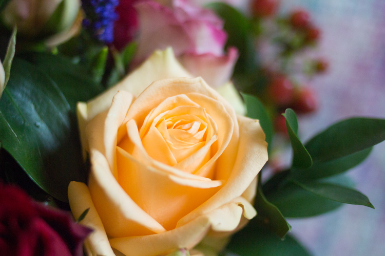 Apple yard London Bouquet yellow rose