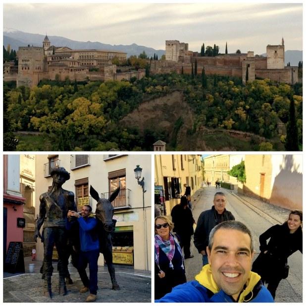 La Alhambra de Granada en Noviembre