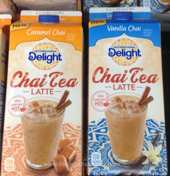 International Delight Chai Tea Latte (Caramel Chai and Vanilla Chai)