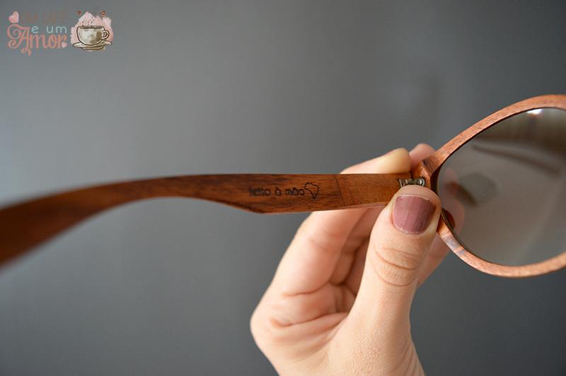 Óculos de Madeira Frito à Mão Artyeto - Manglier