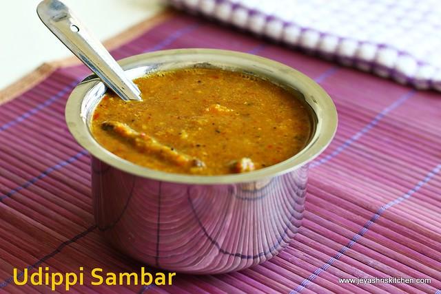 Udippi style-sambar
