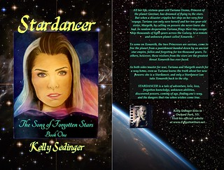 STARDANCER covers, front and back
