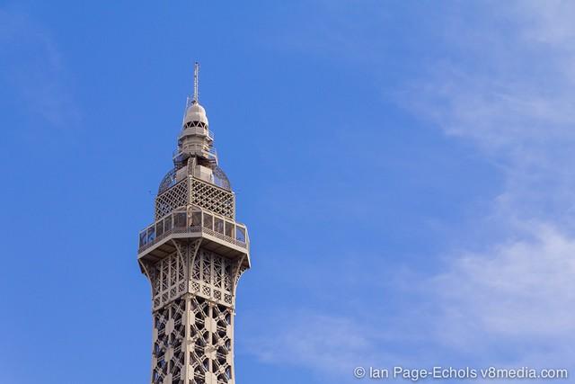 Las Vegas Eiffel Tower top