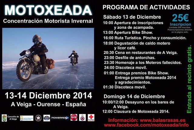 Concentración Invernal Motoexada - A Veiga (Ourense)