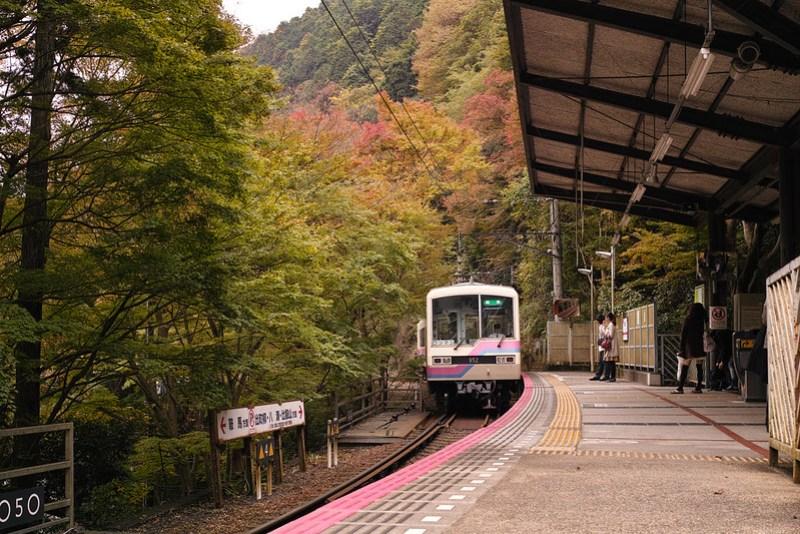 京都 叡山電鉄貴船口駅
