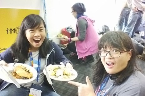 Awesome roommate!. Photo by Rara.