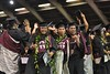 """Hawaii Community College graduates celebrate during commencement ceremonies in Hilo on May 13, 2016.  View more photos:  Hawaii CC in Hilo Commencement Flickr albums <a href=""""https://www.flickr.com/photos/53092216@N07/albums/72157668574343065"""">www.flickr.com/photos/53092216@N07/albums/72157668574343065</a> <a href=""""https://flic.kr/s/aHskzYUgNL"""" rel=""""nofollow"""">flic.kr/s/aHskzYUgNL</a>  Hawaii CC–Palamanui Commencement Flickr Album <a href=""""https://www.flickr.com/photos/53092216@N07/albums/72157668170978492"""">www.flickr.com/photos/53092216@N07/albums/72157668170978492</a>"""