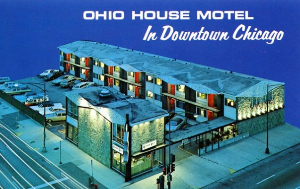 Ohio House Motel - 600 North LaSalle Street, Chicago, Illinois U.S.A. - date unknown
