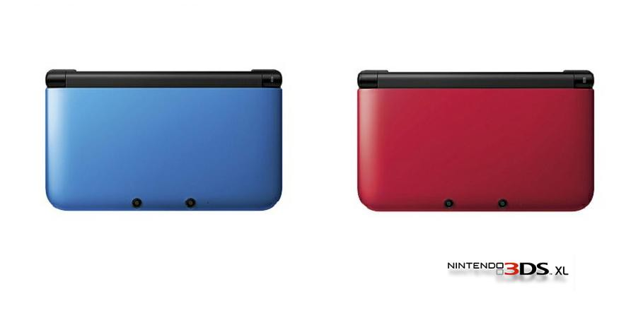 Nintendo 3DS XL colores