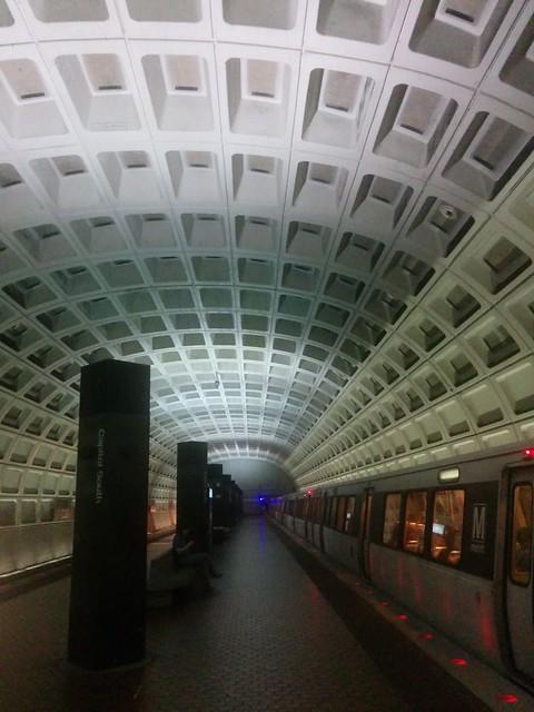 DC Metro Subway stop