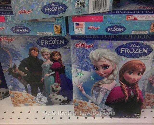 Kellogg's Collectors Edition Disney Frozen Cereal